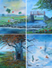 Peter Ellenshaw Limited Edition Giclee on Canvas The Four Seasons Complete Suite