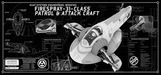 20th Century Fox Artwork Limited Edition Print On Aluminum Slave 1 Techplate