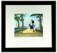 Snow White Artwork Limited Edition Hand-Painted Cel A Smile and A Song - Courvoisier Miniature