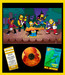 Simpsons Artwork Limited Edition Giclee on Paper Strummer Vacation