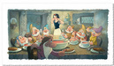 Toby Bluth Limited Edition Giclee on Paper The Lost Soup Scene